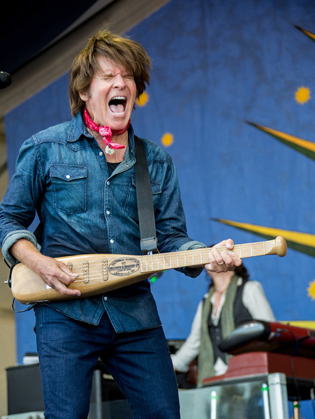John Fogerty performs during the New Orleans Jazz & Heritage Festival 2014 at the Fairgrounds Race Track, New Orleans Louisiana.