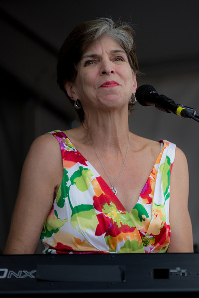 Marcia Ball performs during the New Orleans Jazz & Heritage Festival 2014 at the Fairgrounds Race Track, New Orleans Louisiana.