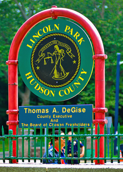 Lincoln Park, Jersey City, NJ. Site of the 21st FilAm Parade and Festival.