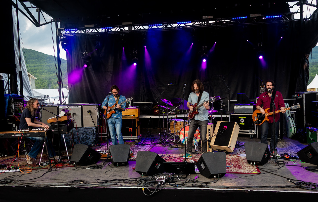 Chris Robinson Brotherhood performs during Mountain Jam 2016 at Hunter Mountian, Hunter NY.