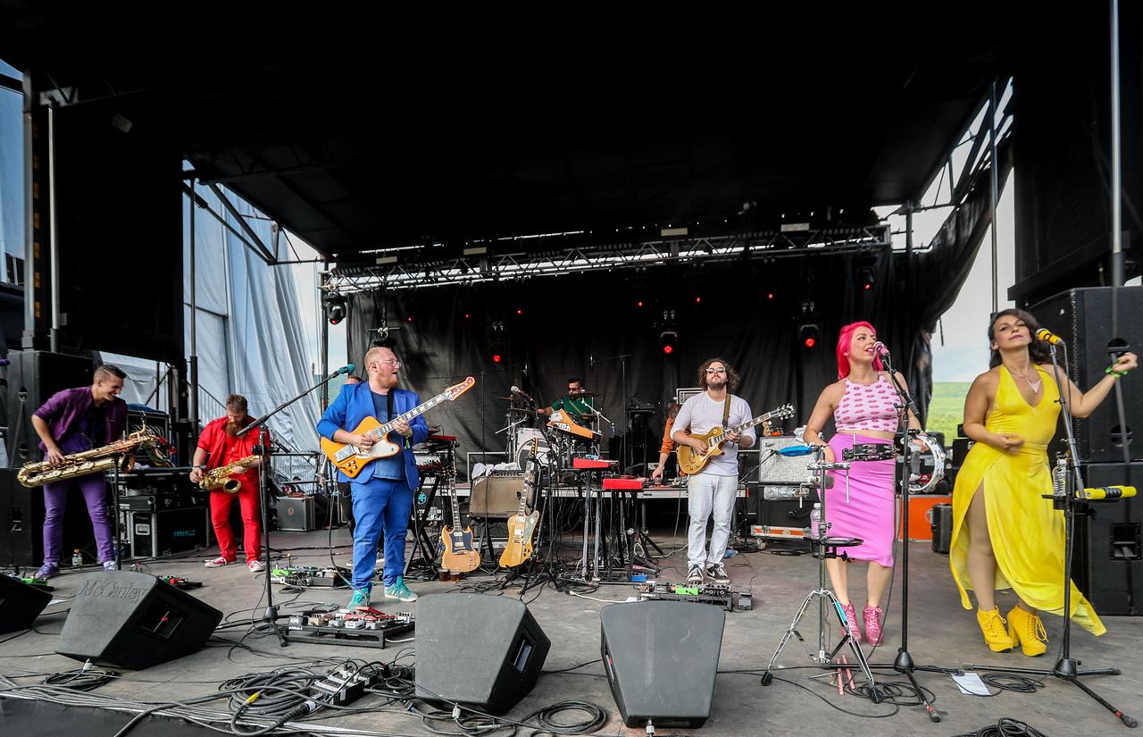 performs during Mountain Jam 2016 at Hunter Mountian, Hunter NY.