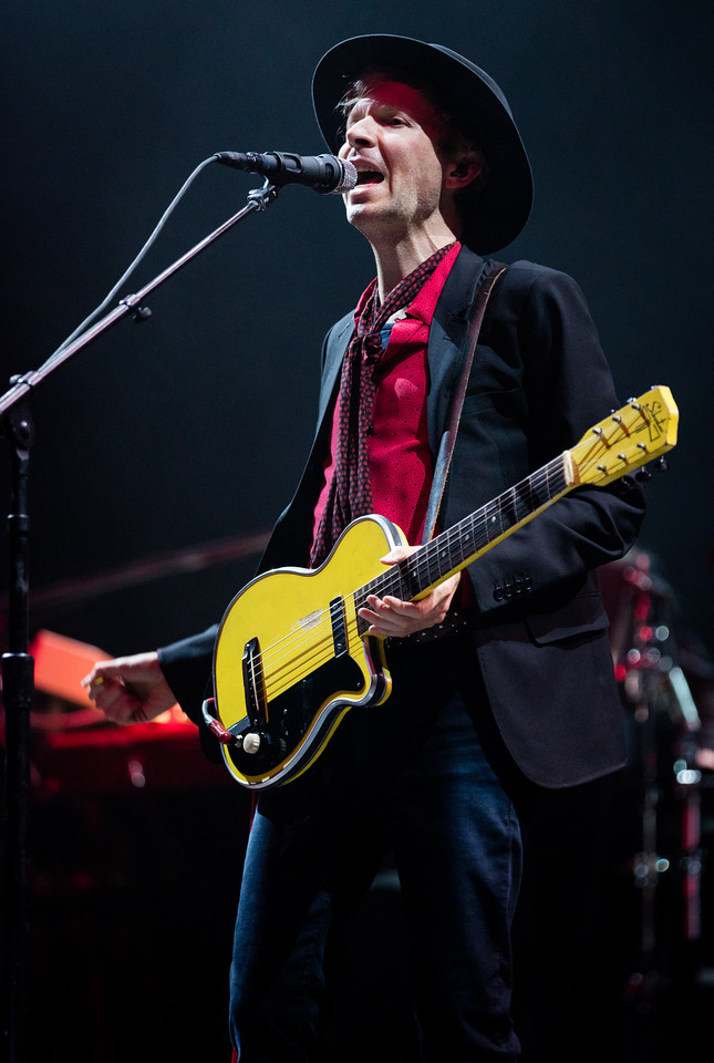 Beck performs during Mountain Jam 2016 at Hunter Mountian, Hunter NY.