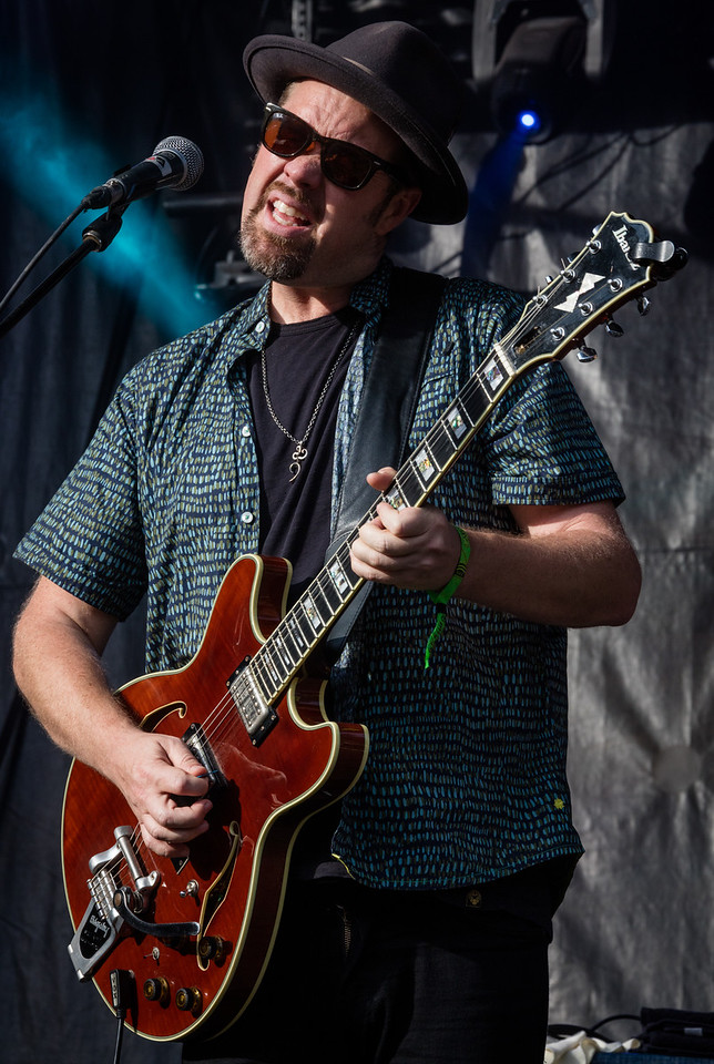 performs during Mountain Jam 2016 at Hunter Mountian, Hunter NY.