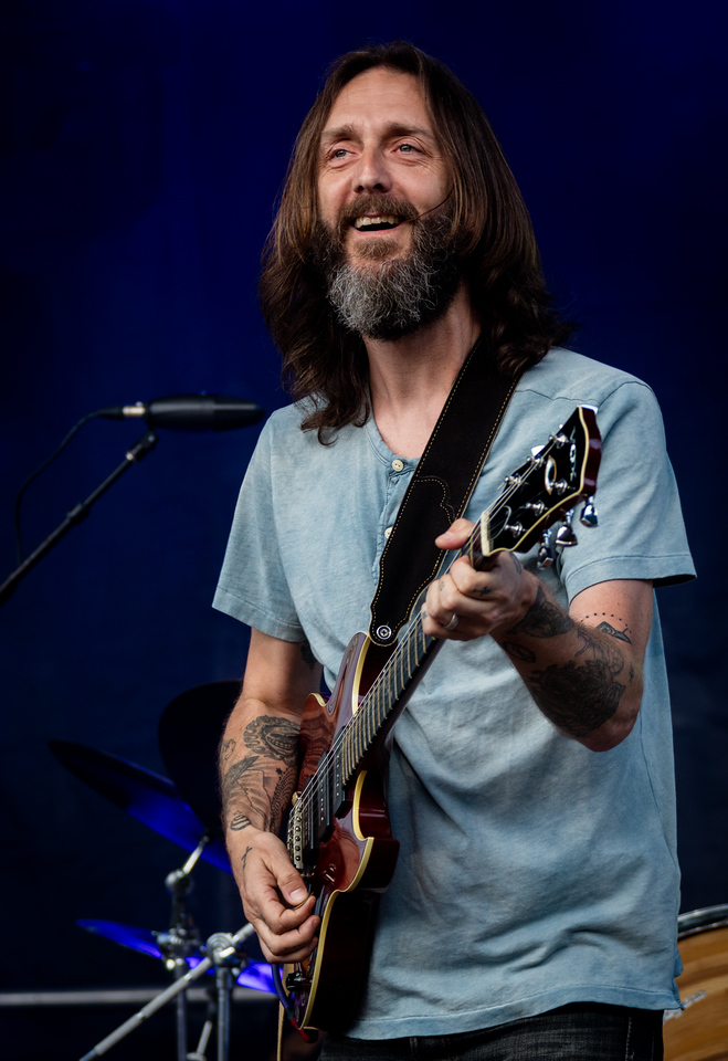 Chris Robinson Brotherhood performs during Mountain Jam 2016 at Hunter Mountian, Hunter NY.