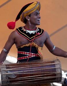 Sri Lankan drummer