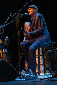 Sally & James Taylor perform in the Hunter Center at Mass MoCA, North Adams, MA.