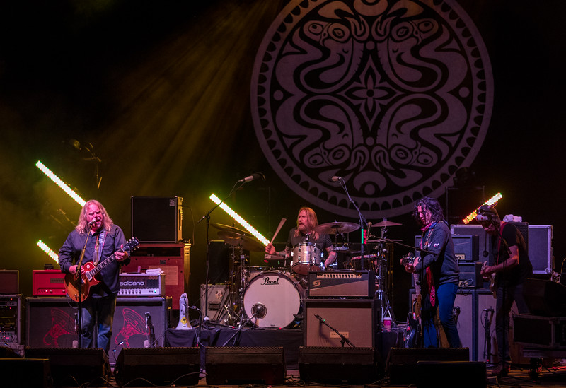 Warren Haynes and Gov't Mule performs during Mountain Jam 2016 at Hunter Mountian, Hunter NY.