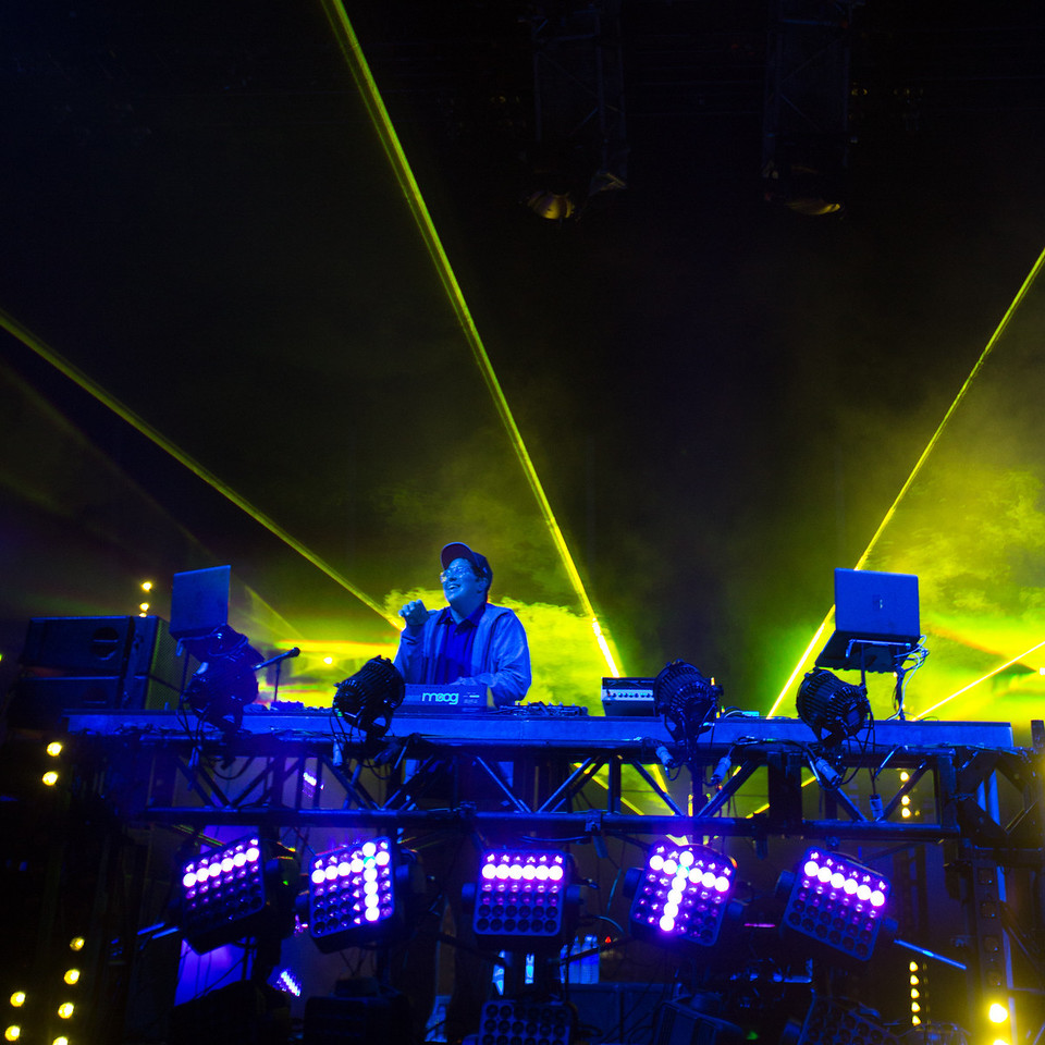 Pretty Lights performs during Mountain Jam at Hunter Mountian, Hunter, NY