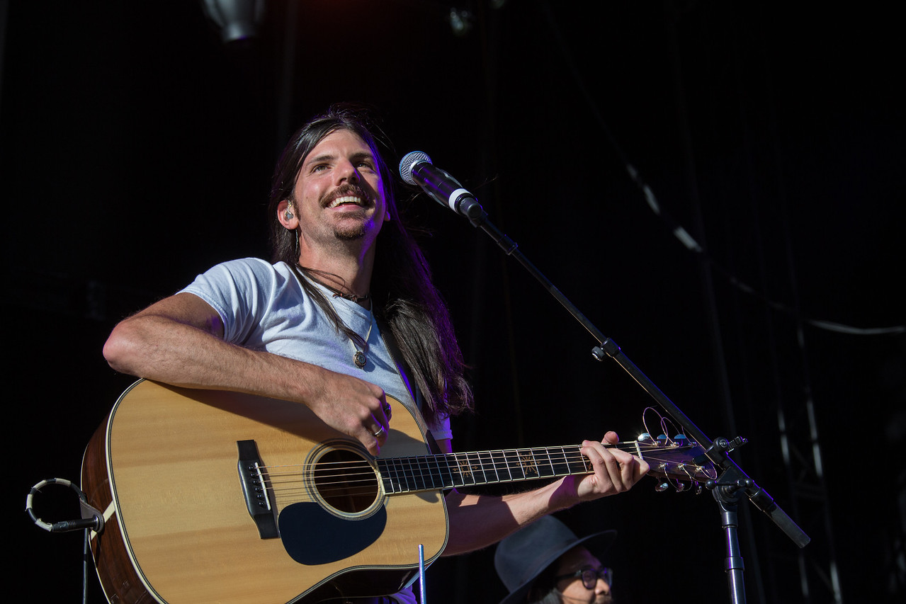 The Avett Brothers perform during Mountain Jam at Hunter Mountian, Hunter, NY