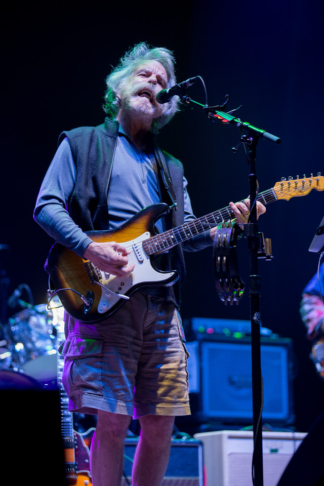Bob Weir and Rat Dog performs during Mountain Jam at Hunter Mountian, Hunter, NY