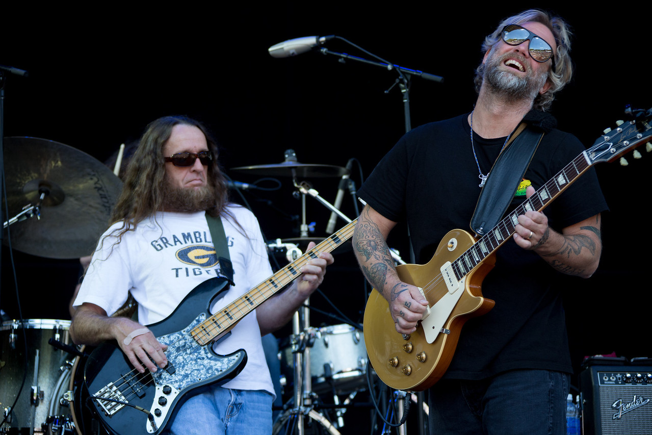 Anders Osborne performs during Mountain Jam at Hunter Mountian, Hunter, NY
