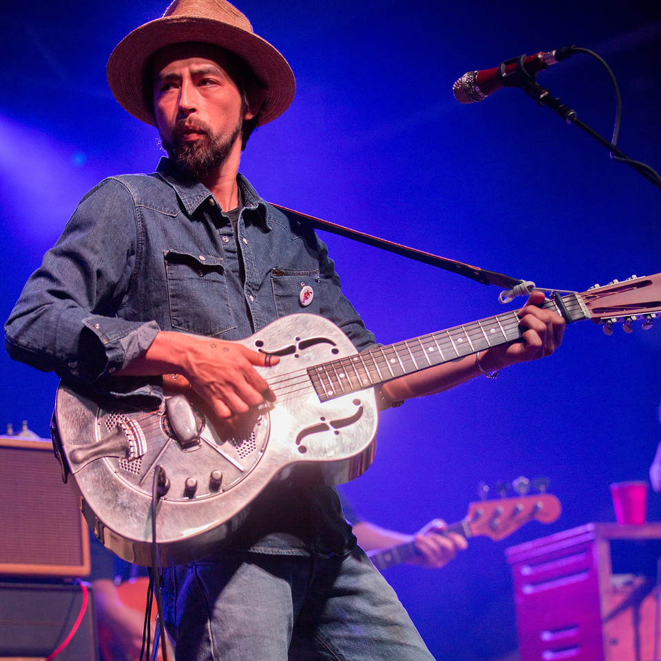 Jackie Greene performs during Mountain Jam at Hunter Mountian, Hunter, NY