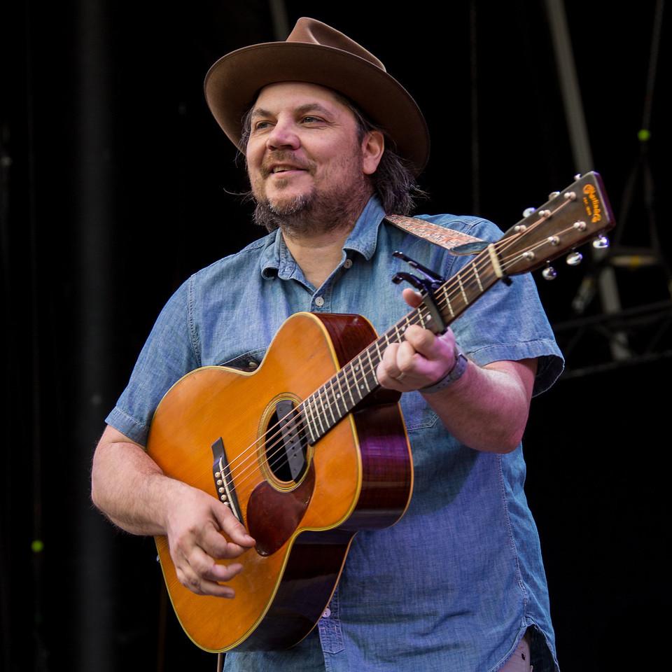 Jeff Tweedy performs during Mountain Jam at Hunter Mountian, Hunter, NY