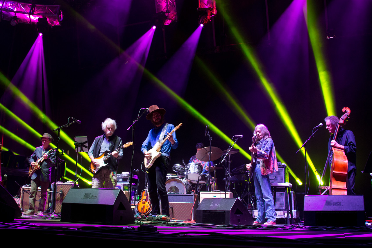 Bob Weir and Rat Dog performs during Mountain Jam at Hunter Mountian, Hunter, NY