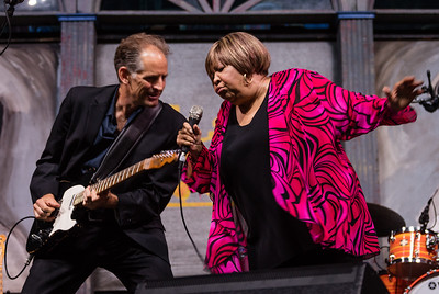 Mavis Staples performs during the New Orleans Jazz & Heritage Festival 2016 at the Fairgrounds Race Track in New Orleans Louisiana.