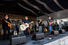 Los Lobos performs during the New Orleans Jazz & Heritage Festival 2016 at the Fairgrounds Race Track in New Orleans Louisiana.