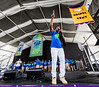 Pastor Tyrone Jefferson performs during the New Orleans Jazz & Heritage Festival 2016 at the Fairgrounds Race Track in New Orleans Louisiana.