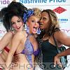 "Drag Queens Sarah, Di Di (AKA ""Deception"") and Nicole"