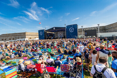 performs during the 60th annual Newport Folk Festival 2019 at Fort Adams State Park in Newport RI.