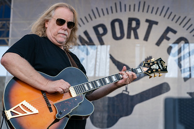 Warren Haynes performs during the 60th annual Newport Folk Festival 2019 at Fort Adams State Park in Newport RI.