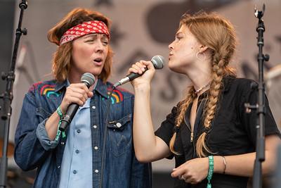 Brandi Carlisle and Maggie Rogers