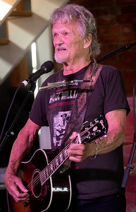 Kris Kristofferson performs during the Newport Folk Festival 2016 at Fort Adams State Park in Newport RI.