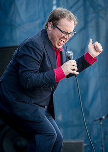 St Paul & The Broken Bones perform during the Newport Folk Festival 2016 at Fort Adams State Park in Newport RI.