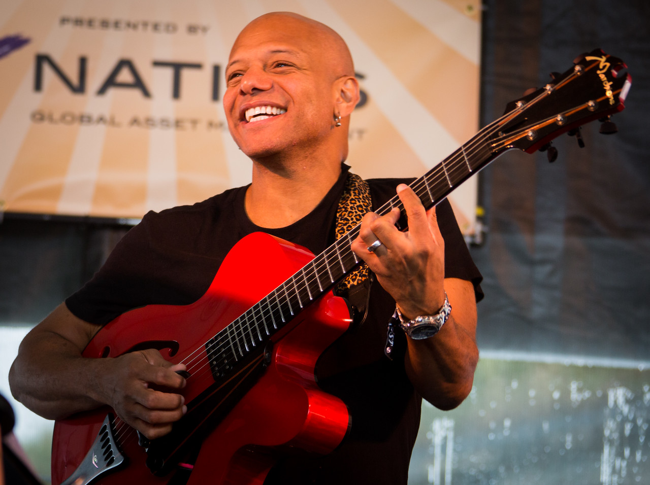 Mark Whitfield of The Newport Now 60 Band