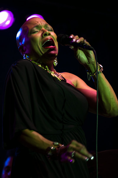 Dee Dee Bridgewater performs during Newport Jazz  Festival at The International Tennis Hall of Fame