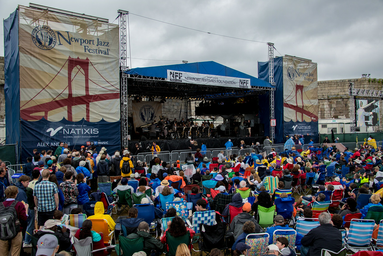 Wynton Marsalis performs during Newport Jazz  Festival at Fort Adams State Park