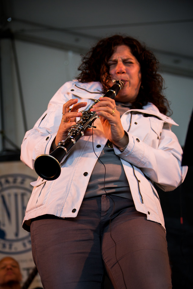 Anat Cohen of The Newport Now 60 Band