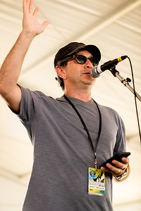 Danny Melnick speaks during the Newport Jazz Festival 2016 at Fort Adams State Park in Newport RI.