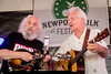 John Grisman and Del McCoury perform during the Newport Folk Festival 2016 at Fort Adams State Park in Newport RI.