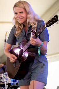 Aoife O'Donovan performs during the Newport Folk Festival 2016 at Fort Adams State Park in Newport RI.