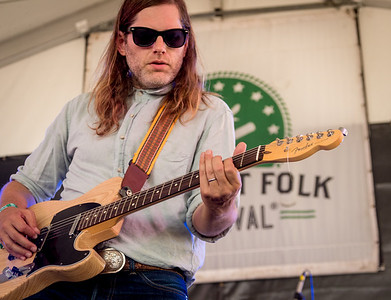 Fruit Bats performs during the Newport Folk Festival 2016 at Fort Adams State Park in Newport RI.