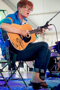 Bret Dennen performs during the Newport Folk Festival 2016 at Fort Adams State Park in Newport RI.