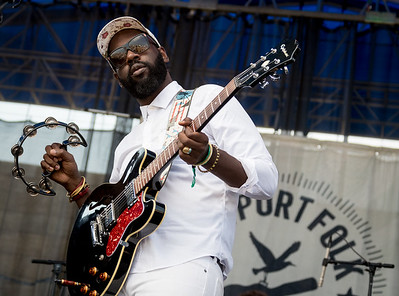 Amasa Hines performs during the Newport Folk Festival 2016 at Fort Adams State Park in Newport RI.