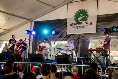 Radical Face performs during the Newport Folk Festival 2016 at Fort Adams State Park in Newport RI.