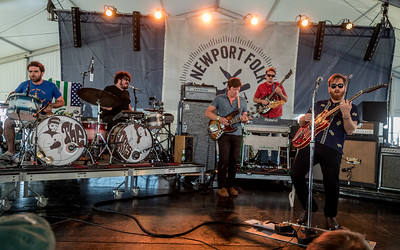 The Arcs perform during the Newport Folk Festival 2016 at Fort Adams State Park in Newport RI.