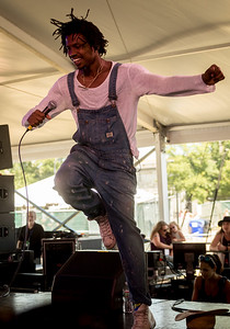 Raury performs during the Newport Folk Festival 2016 at Fort Adams State Park in Newport RI.