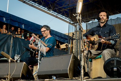 Flight of the Concords performs during the Newport Folk Festival 2016 at Fort Adams State Park in Newport RI.