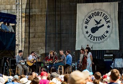 Ryan Adams performs during the Newport Folk Festival 2016 at Fort Adams State Park in Newport RI.