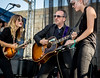 Elvis Costello performs during the Newport Folk Festival 2016 at Fort Adams State Park in Newport RI.