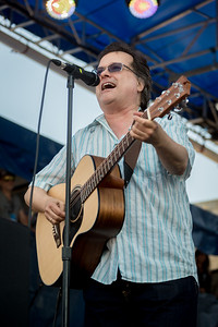 The Violent Femmes performs during the Newport Folk Festival 2016 at Fort Adams State Park in Newport RI.