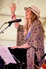 Tierney Sutton<br />  performs during the Newport Jazz Festival 2016 at Fort Adams State Park in Newport Rhode Island.