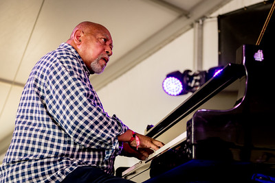 Kenny Barron performs during the Newport Jazz Festival 2016 at Fort Adams State Park in Newport Rhode Island.