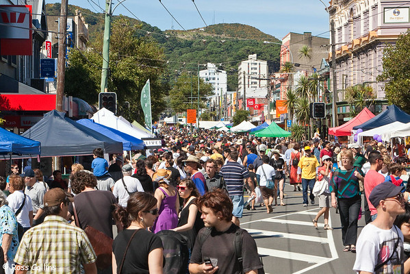 Newtown Street Fair, Wellington, 8 March 2009