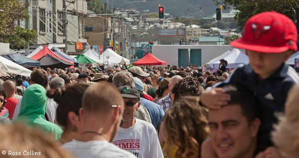 Newtown Festival Street Fair, Wellington, 7 March 2010