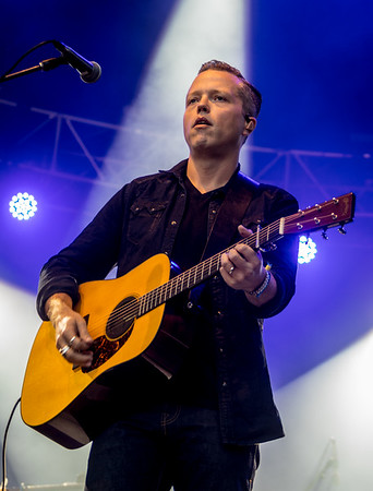 Jason Isbell performs during the Outside Lands Music Festival 2016 in Golden Gate State Park, San Francisco CA.