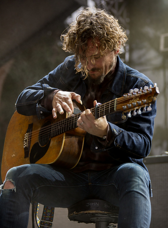 John Butler Trio performs during the Outside Lands Music and Arts Festival 2014 in Golden Gate Park, Sanfrancisco CA.